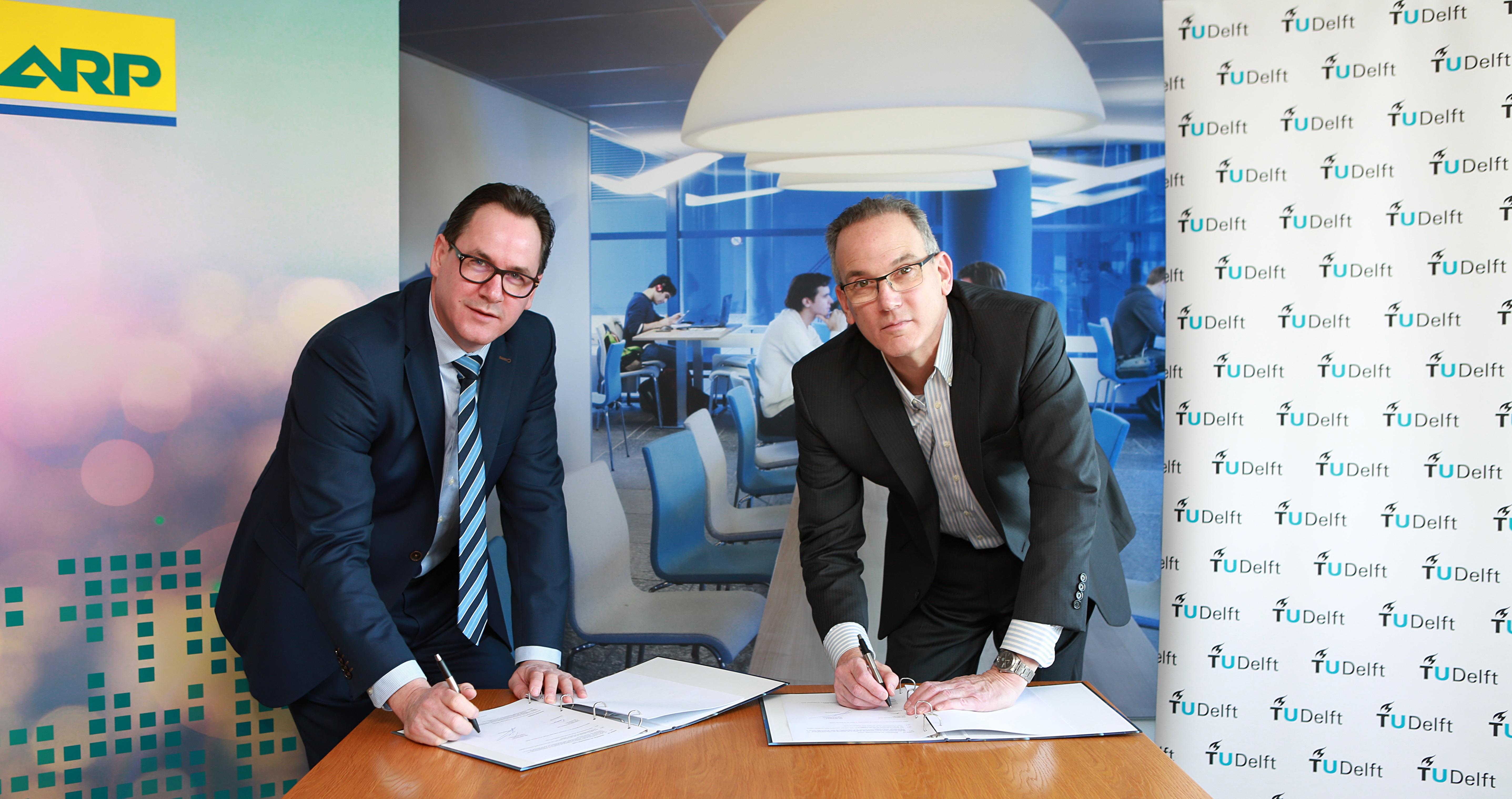 Overeenkomst ARP en TU Delft