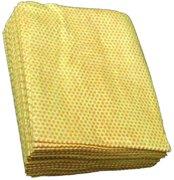 Toner-/stofdoek, 40 stuks, geel/oranje