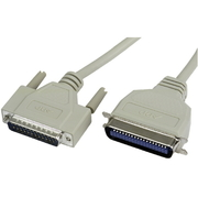 Parallel Cable DB25/m-Centr. 36/m, 2m