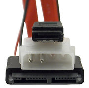 SATA naar micro-SATA kabel incl. stroom