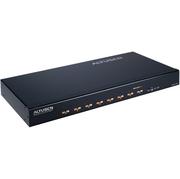 Seriële server 10/100,8xRJ45 RS232, rack