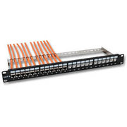 ARP patchpanel cat.6, 24 p., grijs