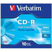 Verbatim CD-R 800MB 40x JC(10)