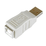 USB Coupler Type A/m-Type B/f