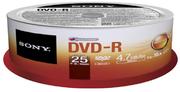 Sony DVD-R 4.7 GB 16x SP(25)