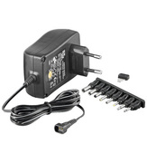ARP AC Adapter 3-12V DC, 2.25A, 8 Plugs