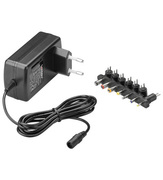 ARP AC Adapter 9-24V DC, 1.5A, 7 Plugs