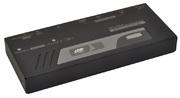 KVM Extender, USB+PS/2, 2 Consoles, 200m