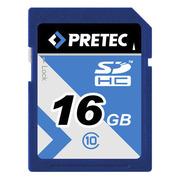Pretec SDHC Card Class 10, 16 GB