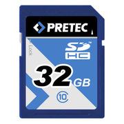 Pretec SDHC Card Class 10, 32 GB