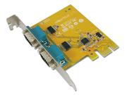 I/O Card 2× RS-232 Serial PCIe