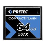 Pretec CF Card 567x 64GB
