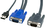 KVM Cable USB+VGA to DB15HD, 1.8m