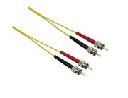 FO Cable 09/125 µm Duplex ST/ST, 1 m