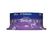 Verbatim DVD+R 4.7GB 16x SP (25)