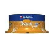 Verbatim DVD-R 4,7 GB 16x spindel (25)