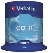 Verbatim CD-R80 52x, 100 Spindle
