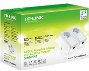 TP-LINK AV500+ Powerline 500Mbps 2-pack