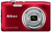 Nikon Coolpix A100 Digital Camera red