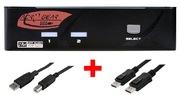 ARP KVM Switch 1:2 USB, DisplayPort