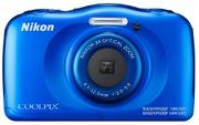 Nikon Coolpix W100 Digital Camera blue