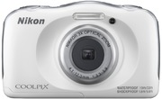 Nikon Coolpix W100 Digital Camera white