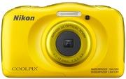 Nikon Coolpix W100 Digital Camera Yellow