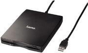 Hama USB Floppy Drive External, Black