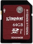 Kingston SDXC Card UHS-I Class 10 64GB