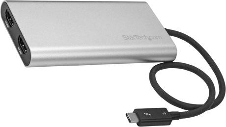 Adapter Thunderbolt 3 Type-C-2x HDMI/f