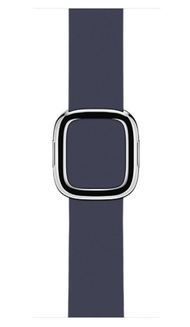 Apple Watch Leather Strap 38mm Dark Blue - Preview 0