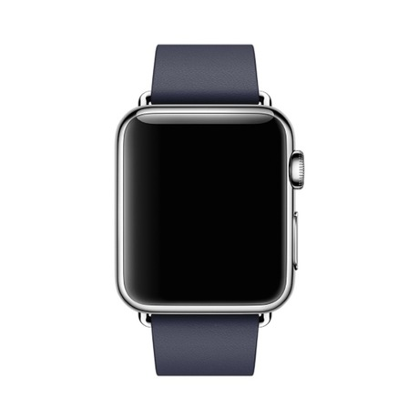 Apple Watch Leather Strap 38mm Dark Blue - Preview 2
